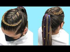Hair Styles, Youtube, Beauty, Cornrows, Hairdos, Colors, Hair Plait Styles, Hair Makeup, Haircut Styles