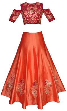 Pinterest • @bhavi91 Indian Dresses For Kids, Pink Dresses For Kids, Indian Outfits, Beautiful Dresses, Nice Dresses, Short Dresses, Lehenga Gown, Anarkali, Saree