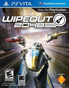 Wipeout 2048  PlayStation Vita *** Details can be found by clicking on the image.Note:It is affiliate link to Amazon.