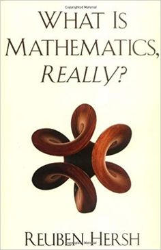 Most philosophers of mathematics treat it as isolated, timeless, ahistorical, inhuman. Reuben Hersh argues the contrary, that mathematics must be understood as What Is Mathematics, Teacher Wish List, Books To Read, My Books, Teacher Books, Science Books, Book Lovers, Health, Amazon