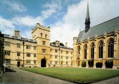 Tolkien was an undergraduate at Exeter College.