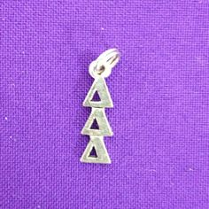 Licensed Delta Delta Delta Lavaliere by AnnPedenJewelry on Etsy, $4.99