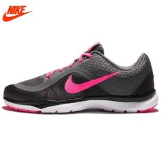 first rate 2c0c5 b1dc0 NIKE Authentic AIR MAX FLEX TRAINER 6 ST Breathable Women s Running Shoes  Sneakers Types Of Shoes