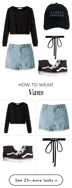 """Cuba and black"" by gobbyabdallah-1 on Polyvore featuring Miss Selfridge, Vans, Joomi Lim and Nasaseasons"