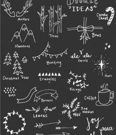 Christmas Zentangle Patterns by Maria CS
