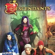 Plan a mesmerizing Disney Descendants birthday party with the ideas and supplies featured here. Included all on one page are ideas for decorations, favors, invitations, birthday cake, food and games.