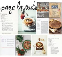 French Menu Cookbook by Winfield Foster, via Behance | Cookbook ...