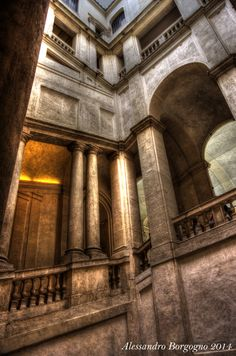 Roma - Palazzo Barberini - Scalinata del Bernini