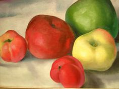 Georgia O'Keeffe - Apple Family 3, 1921, Milwaukee Museum of Art, Milwaukee, Wisconsin