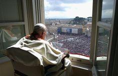 27 marzo 2005, una semana antes de su muerte.  Beato Juan Pablo II  Conoce su vida de santidad en www.aciprensa.com/juanpabloii