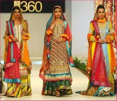 Mehndi Dresses for Modern Wedding
