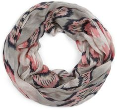 Sole Society Ikat Printed Infinity Scarf on shopstyle.com