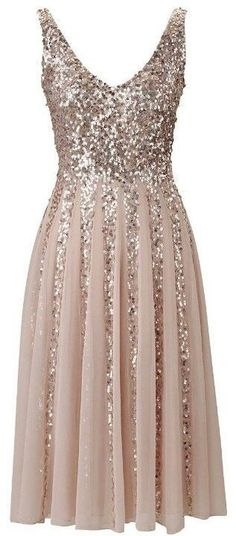Cute and sparkly dress.