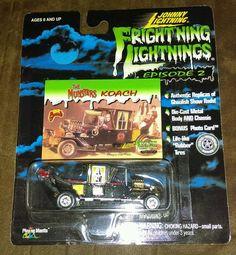 JOHNNY  LIGHTNING EPISODE 2  GEORGE BARRIS THE MUNSTERS KOACH  #Mattel