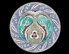 Image result for kashan style cantagalli vase