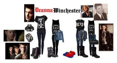 Deanna Winchester by amb3rwinchester on Polyvore featuring UNIF, Fat Face, Replay, Paige Denim, AG Adriano Goldschmied, Iron Fist, GUESS, Alejandro Ingelmo and Selda Okutan