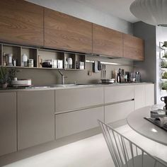 If you want a luxury kitchen, you probably have a good idea of what you need. A luxury kitchen remodel […] Modern Kitchen Interiors, Modern Kitchen Cabinets, Kitchen Cabinet Design, Modern Bathroom Design, Interior Design Kitchen, Modern Interior Design, Kitchen Modern, Kitchen Worktops, Minimalist Interior