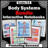 Human Body Systems Interactive Notebooks BUNDLE of Activities Secondary School Science, 5th Grade Science, Human Body Activities, Science Activities, Science Notebooks, Interactive Notebooks, Science Stations, Human Body Systems, Grades