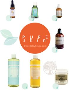 simple + natural skin care | the best natural skin products that are pure, inexpensive, and work beautifully