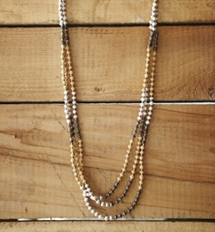 Beads made from recycled magazines in Uganda. So cool. ($45) #eco #recycle