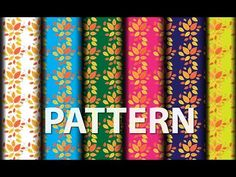 Pattern Design in Adobe illustrator - YouTube