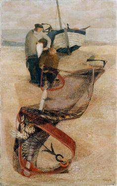 Trawl Net, 1946 by Prunella Clough (British 1919-1999)