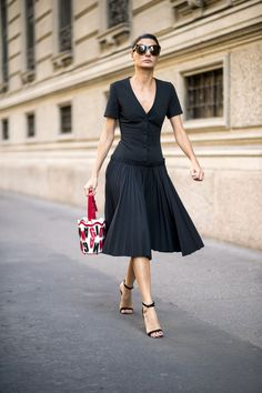 - Street style : vive les robes glamour ! - Elle