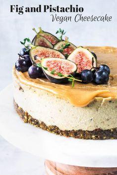 Brownie Desserts, Raw Desserts, Vegan Dessert Recipes, Vegan Sweets, Cheesecake Recipes, Figs Recipe Vegan, Fig Recipes, Fig Dessert, Oreo Dessert