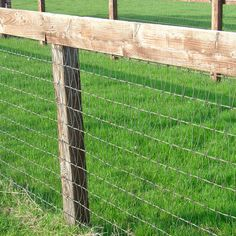 Redbrand wire horse fencing - this wire would be perfect for the puppies No Climb Horse Fence, Pasture Fencing, Farm Fence, Dog Fence, Diy Horse Fencing, Mesh Fencing, Horse Stables, Horse Farms, Horse Pens