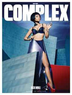 Nicki Minaj has landed another cover with the December/January 2014-2015 issue of Complex Magazine.