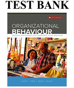 Organizational Behaviour Improving Performance And Commitment In The Workplace Canadian Edition Solutions Manual By Colquitt Organizational Behavior, Learning Objectives, Catering Companies, Happy Independence Day, Textbook, Workplace, Psychology, Manual, Marketing