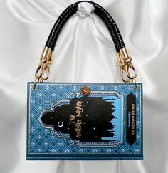 Items similar to The Arabian Nights Book Handbag - Book Cover Purse - Aladdin Bag - Ali Baba Story Book on Etsy Arabian Nights Book, Book Purse, Night Book, Leather Bound Books, Book Folding Patterns, Blue Candy, Folded Book Art, Beautiful Book Covers, Make Up Your Mind
