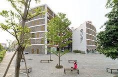 Tulou Housing Guangzhou / URBANUS Architects by Iwan Baan,Urbanus' project