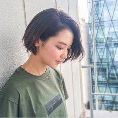 Pin on hair Really Short Hair, Girl Short Hair, Short Hair Cuts, Trending Hairstyles, Short Bob Hairstyles, Hairstyles Haircuts, Korean Short Hair Bob, Shot Hair Styles, Long Hair Styles