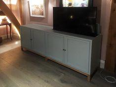 Bespoke Tv Cabinet With Lift Pop Up Rising Hidden