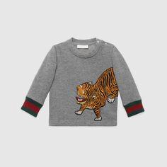 Baby tiger cotton sweatshirt