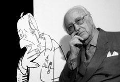 Antonio Mingote dibujante y humorista n.en Sitges en 1919+2012 en Madrid