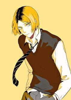 #kenma #hq Kenma Kozume, Kuroken, Kageyama, Hinata, Haikyuu Nekoma, Haikyuu Characters, Anime Characters, Kurotsuki, Digital Painting Tutorials