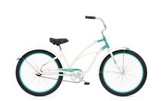 Remember fun? Imagine where you could go on a CRUISER CUSTOM 1 by Electra--available in pearl white/mint, lavender/purple. Explore the wide variety of stylish, creative designs and find the perfect Cruiser to suit your individuality and imagination.