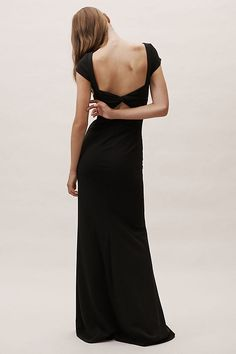BHLDN Madison Dress Bordeaux in Bridesmaids & Bridal Party Different Bridesmaid Dresses, Champagne Bridesmaid Dresses, Black Bridesmaids, Affordable Bridesmaid Dresses, Black Bridesmaid Dresses, Bordeaux, Dresser, Bridal Party Dresses, Wedding Dresses