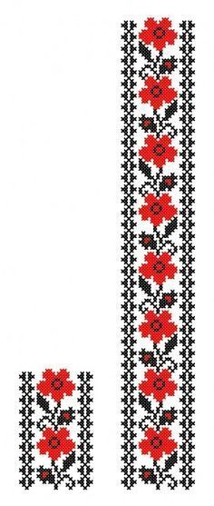 This Pin was discovered by Özn Folk Embroidery, Learn Embroidery, Cross Stitch Embroidery, Embroidery Patterns, Machine Embroidery, Cross Stitch Borders, Cross Stitch Charts, Cross Stitching, Cross Stitch Patterns