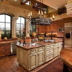 15 Stunning Mediterranean Kitchen Designs | Mediterranean Kitchen, Kitchen  Design And Kitchens