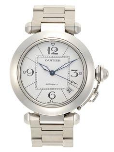 Pasha de Catier Stainless Steel Watch by Cartier