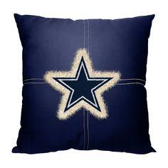 Dallas Cowboys NFL Team Letterman Pillow 18x18