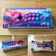 Arcade Controller, Arcade Joystick, Arcade Control Panel, Arcade Table, Diy Tech, Rasberry Pi, Raspberry, Game Room, Video Games