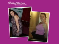 What a difference a year makes - last night Sam celebrated her anniversary, a year since joining Bev's meeting, 56lb lighter - 100% happier! #WeightWatchersWorks to find a class to suit you click www.weightwatcherslocal.co.uk