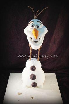 Olaf Cake.....CUTE CAKES http://www.pinterest.com/jenrb29/cute-cakes/ .....