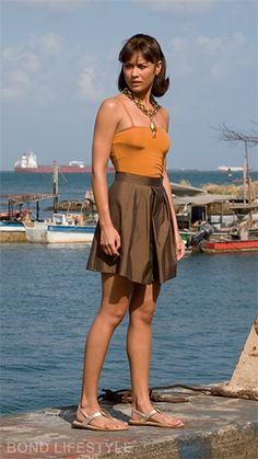 James Bond Girl - Olga Kurylenko est Camille Montes - Quantum of Solace Olga Kurylenko, Daniel Craig, Marc Forster, Best Bond Girls, James Bond Women, Divas, James Bond Movies, French Actress, Beautiful Actresses