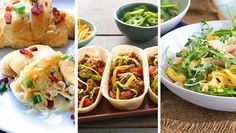 We've pulled together our favorite no-time, no-problem recipes. Dinner's done for a solid two weeks ahead. Ready, set, eat!