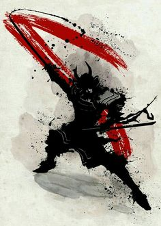 steel canvas Movies & TV samurai katana warrior bushido japan nippon armour black and white fighter Ronin Samurai, Samurai Warrior, Anime Kunst, Anime Art, Samurai Wallpaper, Arte Ninja, Samurai Artwork, Samurai Tattoo, Ronin Tattoo
